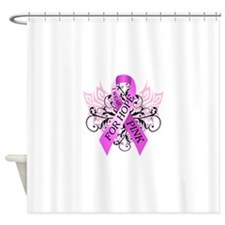 I Wear Pink for Hope Shower Curtain
