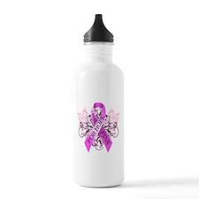 I Wear Pink for Hope Water Bottle