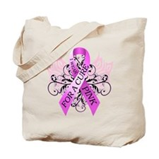I Wear Pink for ACure Tote Bag