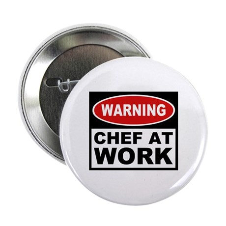 Chef at Work Button