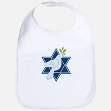 Star Dove Peace Bib