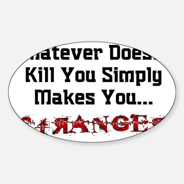 Joker - Stranger Rectangle Decal