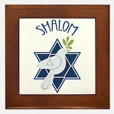 SHALOM Framed Tile