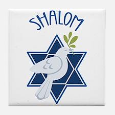 SHALOM Tile Coaster