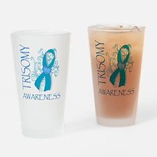 HOPE FOR TRISOMY Drinking Glass