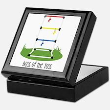 Boss of the Toss Keepsake Box