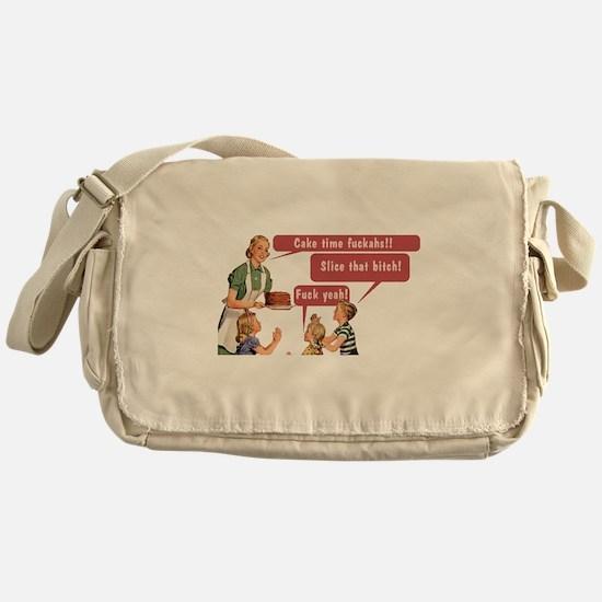 Cake Time Fun Messenger Bag