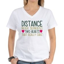 Distance Never Separates Two Hearts That T-Shirt