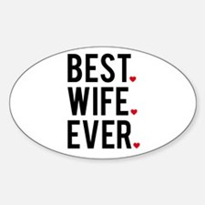 Best wife ever Decal