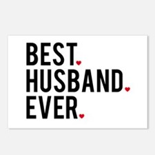 Best husband ever Postcards (Package of 8)