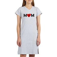 Basketball Layup Heart Mom Women's Nightshirt