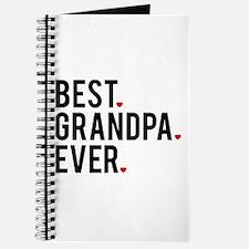 Best grandpa ever, word art, text design Journal