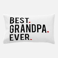 Best grandpa ever, word art, text design Pillow Ca