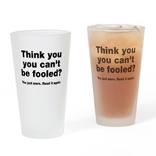 Think you can't be fooled? Drinking Glass