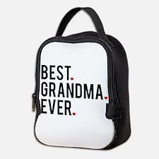 Best grandma ever Neoprene Lunch Bag