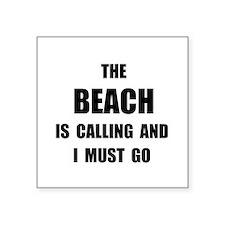 Beach Calling Sticker