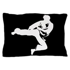 Martial Artist Kids Pillow Case