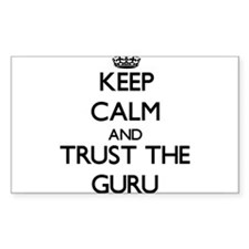 Keep Calm and Trust the Guru Decal