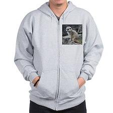 lovely meerkat Zip Hoody