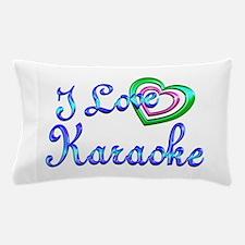 I Love Karaoke Pillow Case