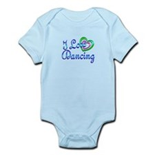 I Love Dancing Infant Bodysuit