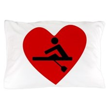 Rowing Heart Pillow Case