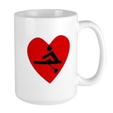 Rowing Heart Mugs