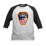 Columbus Fire Department Kids Baseball Jersey