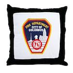 Columbus Fire Department Throw Pillow