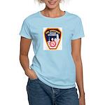 Columbus Fire Department Women's Light T-Shirt