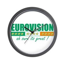 Irish Eurovision Wall Clock