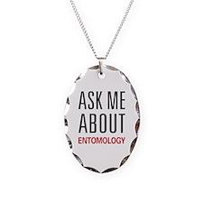 Ask Me About Entomology Necklace
