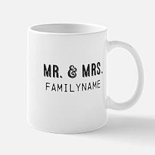 Mr. & Mrs. Personalized Mug