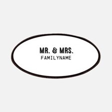 Mr. & Mrs. Personalized Patches