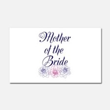 Mother of the Bride Car Magnet 20 x 12