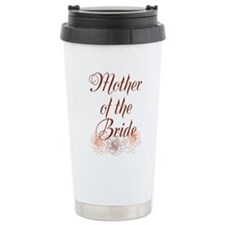 Rustic Mother of the Bride Travel Mug