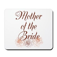 Rustic Mother of the Bride Mousepad