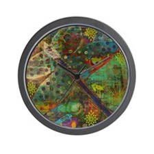 Confetti Dragonfly Colla Wall Clock