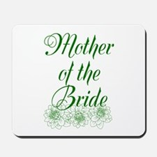 Green Mother of the Bride Mousepad
