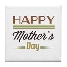 Happy Mother's Day Tile Coaster