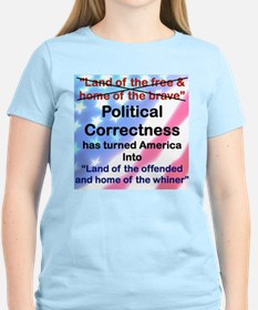 LAND OF THE OFFENDED AND HOME OF THE WHINER T-Shir