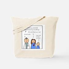 Avoid Nuts. Tote Bag