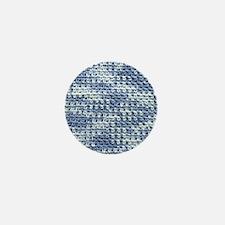 I Love Crochet Mini Button