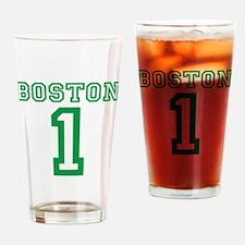 BOSTON #1 Drinking Glass