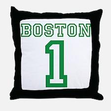 BOSTON #1 Throw Pillow