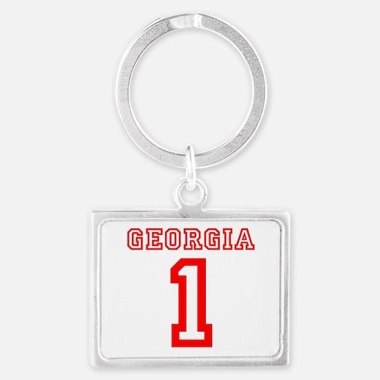 GEORGIA #1 Landscape Keychain