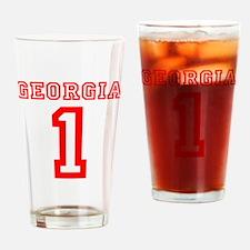 GEORGIA #1 Drinking Glass