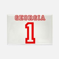 GEORGIA #1 Rectangle Magnet
