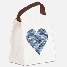 I Love to Crochet Canvas Lunch Bag