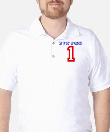 NEW YORK #1 Golf Shirt